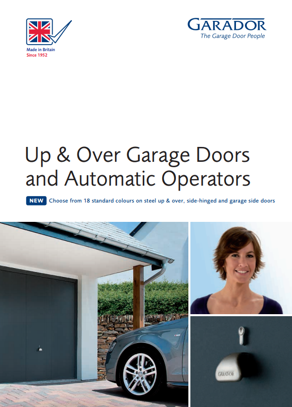 Up and Over Garage Doors and Automatic Operators Brochure
